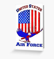 United States Air Force Greeting Card