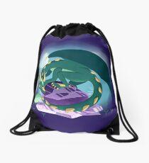 dragon guardian Drawstring Bag