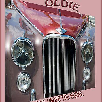 Oldie, But Goodie Under the Hood! by DeerPhotoArts