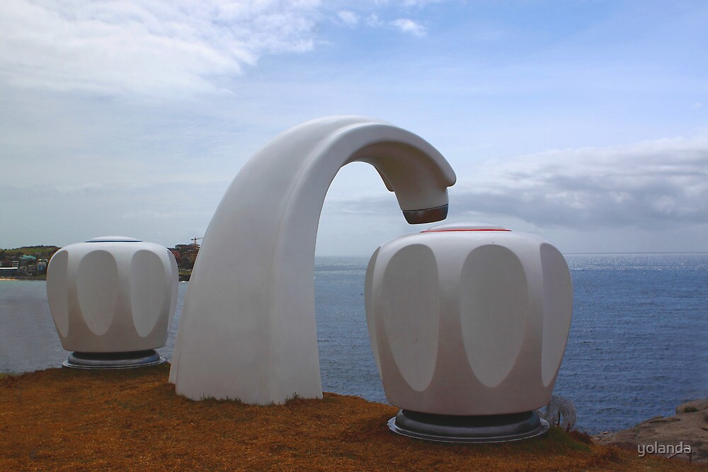Sculptures by the Sea - Giant Tap by yolanda