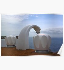 Sculptures by the Sea - Giant Tap Poster