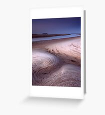 Black River Mouth Greeting Card
