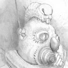 Mining pencil sketch by Pete Janes