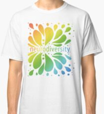 Neurodiversity Splash Classic T-Shirt
