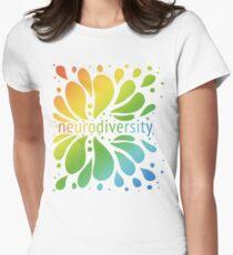 Neurodiversity Splash Women's Fitted T-Shirt