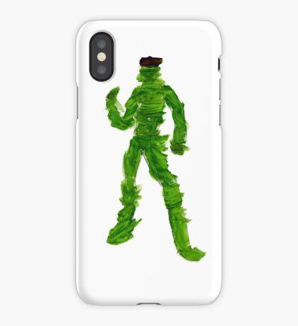 The Green Superhero iPhone Case/Skin