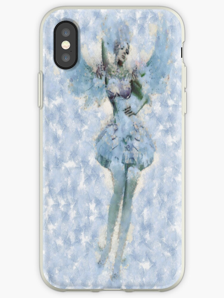 Winter Fairy iPhone Case by leapdaybride