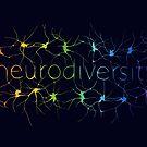 Neuron Diversity - Classic Rainbow by Amythest Schaber