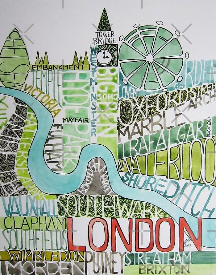 The city of London by Judit Matthews