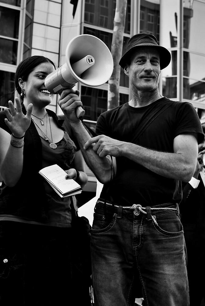 Occupy Melbourne 7 by Andrew  Makowiecki