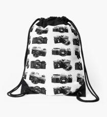 Retro Photography Drawstring Bag