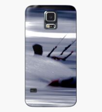Kitesurfing - Riding the Waves in a Blur of Speed Case/Skin for Samsung Galaxy