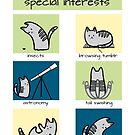 Autistic Cat's Special Interests by Amythest Schaber