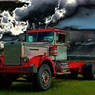 1959 DC 102A Autocar Diesel Truck by TeeMack