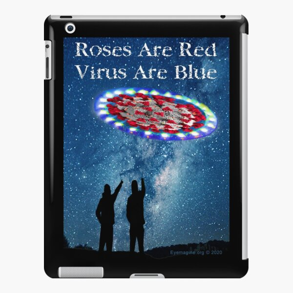 Virus Are Blue iPad Snap Case