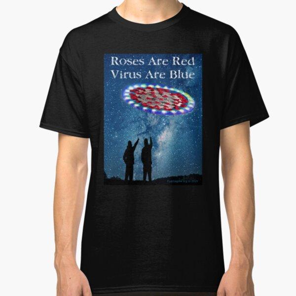 Virus Are Blue Classic T-Shirt