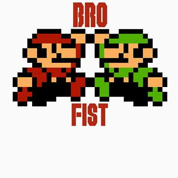 Bro Fist by sindresolhaug