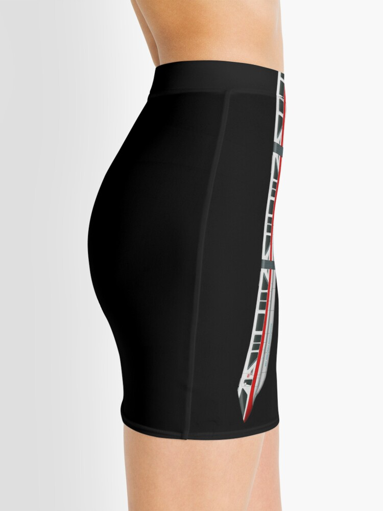 Alternate view of Monorail Leggings & Skirt Design Mini Skirt