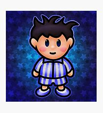 Ness in Pajamas Photographic Print