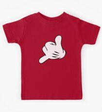 Funny Surf fingers - Shaka hand Kids Tee