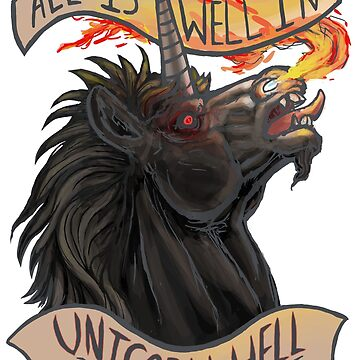 All is Well in Unicorn Hell by OCP-Arts