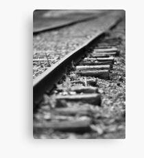 Rail Ways Canvas Print