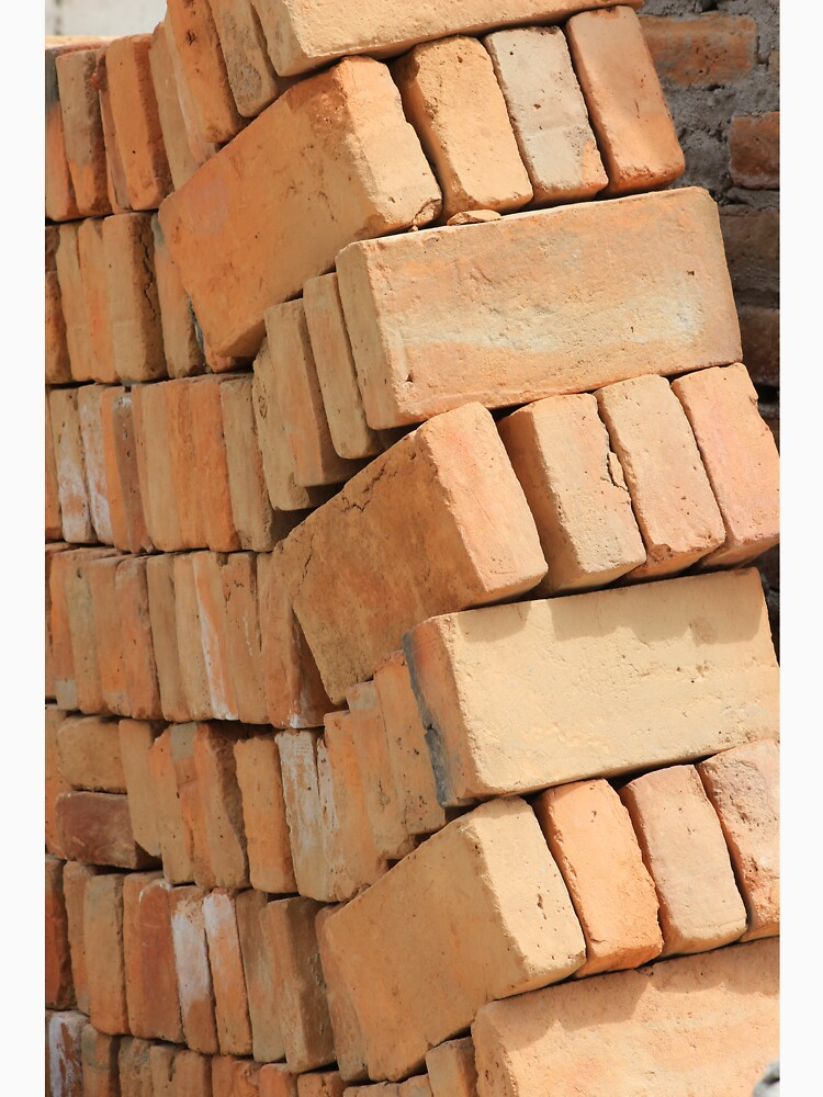 Bricks at a Construction Site by rhamm