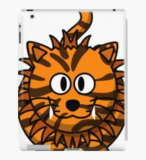 Goofy tiger iPad Case/Skin