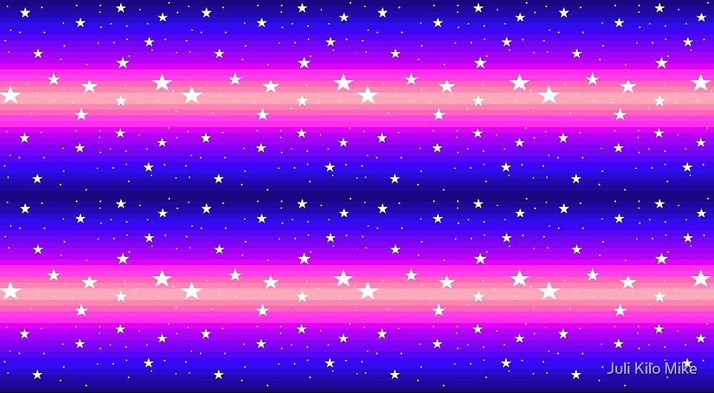 Pixel Star Gradient by Juli Kilo Mike