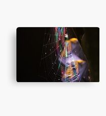 Webbed Disco Canvas Print