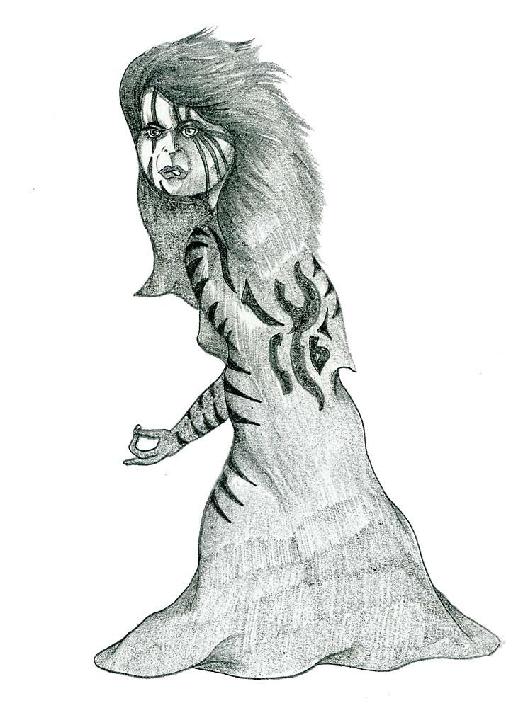Cartoon Sketch in Pencil by Grant Wilson