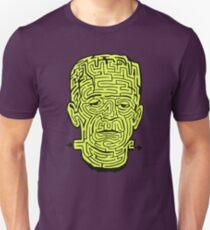 Frankenstein Halloween Maze Unisex T-Shirt