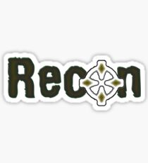 Recon Sticker