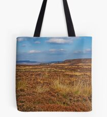 White Edge Viewed from Curbar Edge, Derbyshire Tote Bag