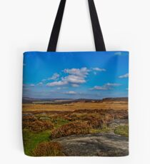 Curbar Edge, Derbyshire Tote Bag