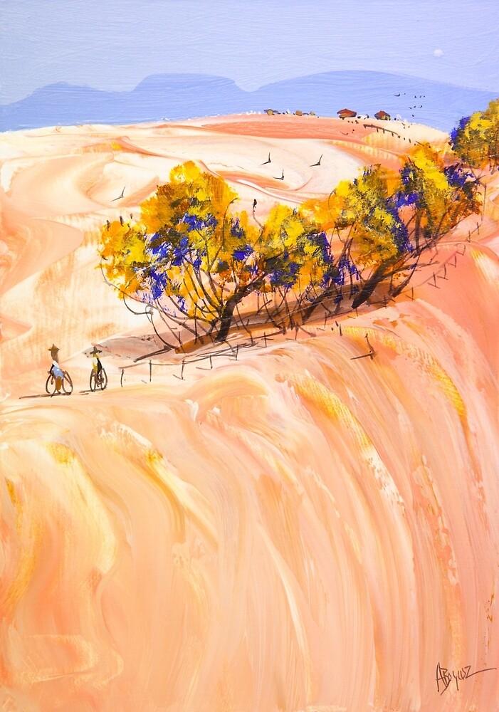 On the ridge by Adam Bogusz