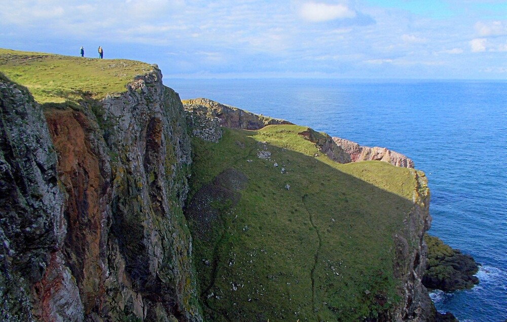 THE CLIFFS-SCOTLAND by dale54
