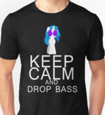 Vinyl Scratch/DJ Pon-3 - Keep Calm and Drop Bass Unisex T-Shirt