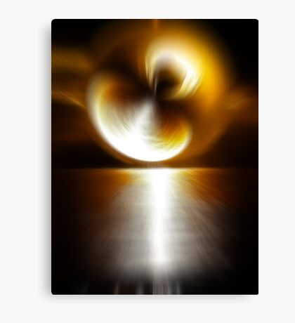 Sunstorm Canvas Print