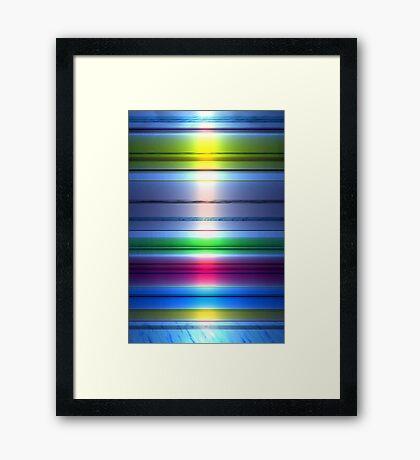 Spectral Colors Framed Print