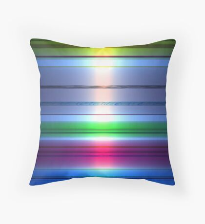 Spectral Colors Throw Pillow