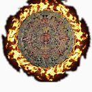 Fiery mayan calendar by queensoft