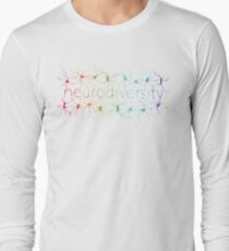 Neuron Diversity - Alternative Rainbow Long Sleeve T-Shirt