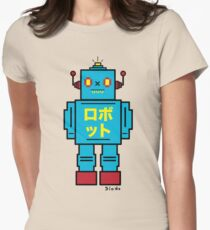 SCULL BOT Womens Fitted T-Shirt