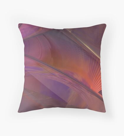 Streets of Desires #3 Throw Pillow