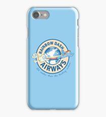 Rainbow Dash Airways iPhone Case/Skin