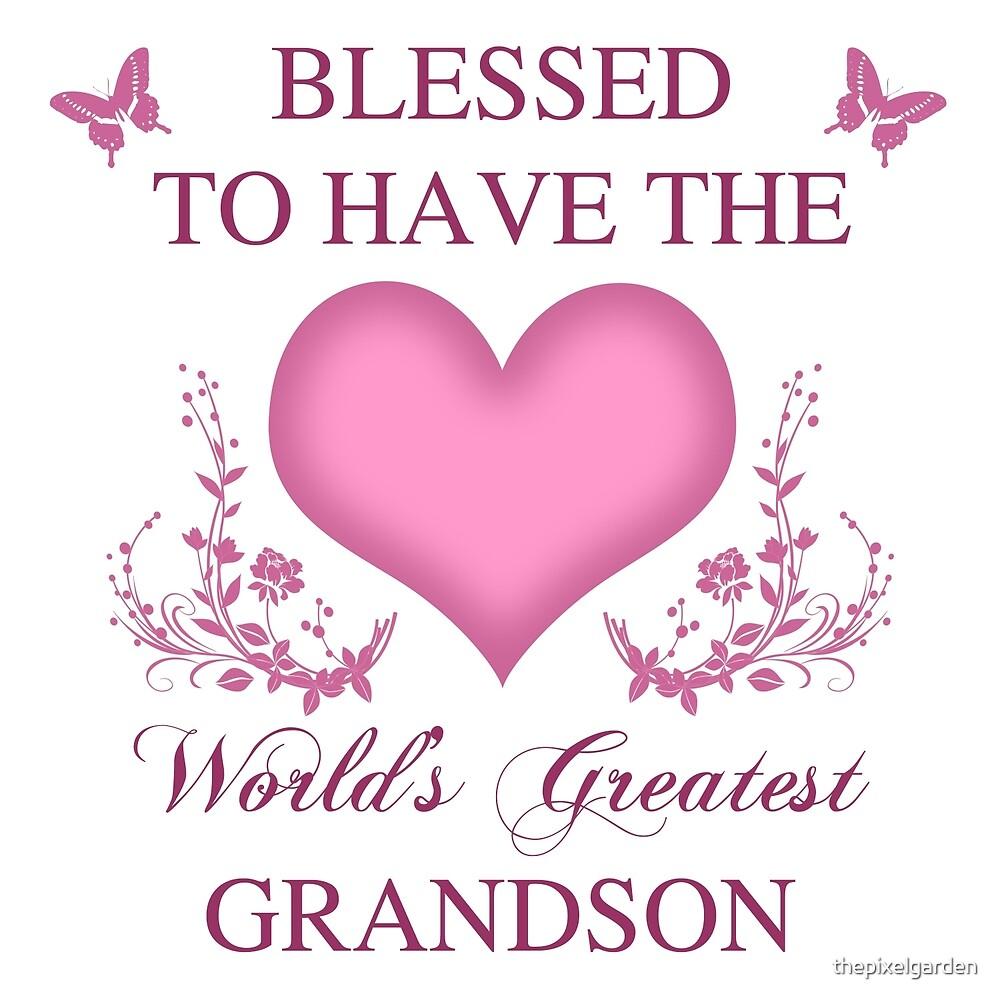 World's Greatest GrandSon by thepixelgarden