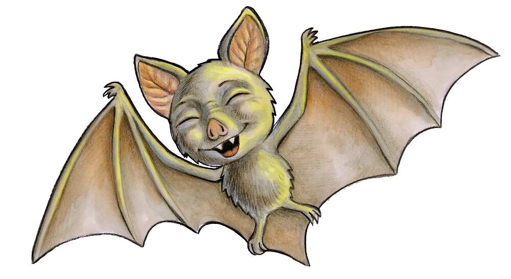Bat (variation 1) by snailmakesart