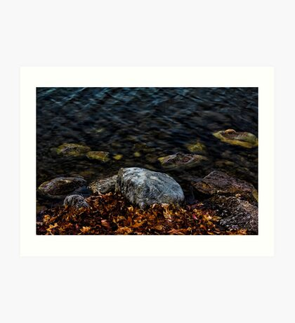 Under These Rocks and Stones Art Print