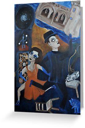 Artnapping III: Capture by Tango by zoequixote